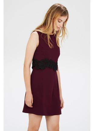 Новое платье 2 в 1 warehouse