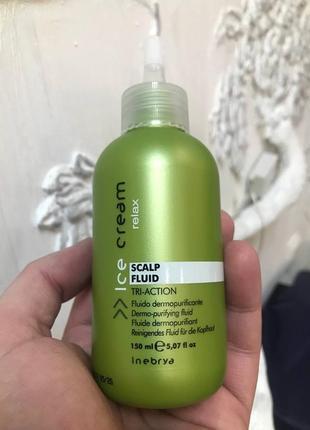 Флюїд-пілінг для очищення шкіри голови