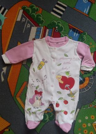 Человечек слип midirik для новорожденных