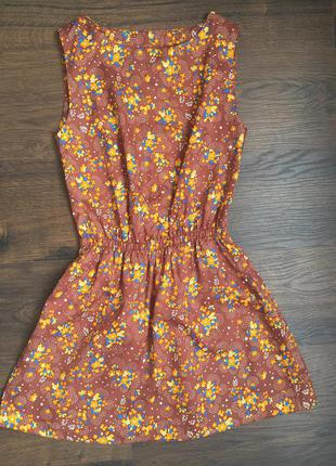 Милое платье в цветочек