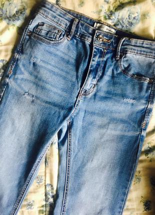 High waist джинсы stradivarius