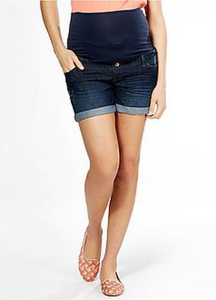 Обнова! шорты джинсовые для беременных