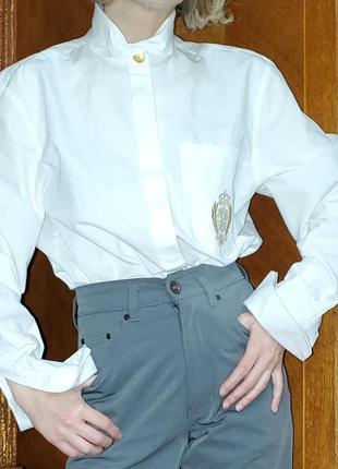 Блуза под запонки премиум бренда elegance paris