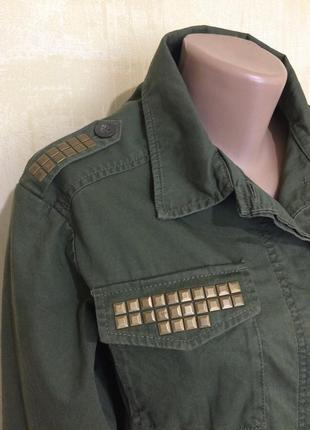 Лёгкая парка,куртка в стиле милитари !!