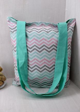 Еко-торба, сумка шопер, багаторазова сумка для покупок hand made
