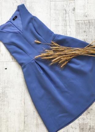 Шикарне блакитне плаття