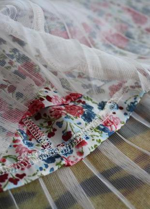 Нежная легкая юбка с шифоновой подкладкой xside