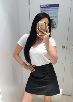 Zara комплект футболка и юбка