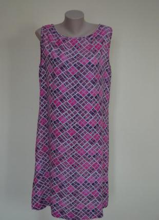 Красивое платье прямого покроя