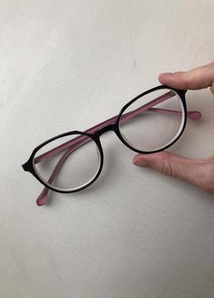 Стильная двухцветная оправа/ очки