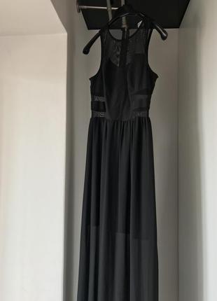 Красивое длинное платье от hm