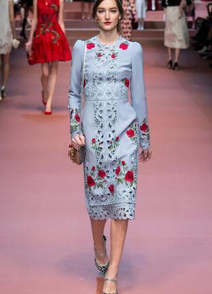 Платье с особым шармом dolce&gabbana