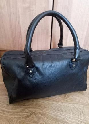 Чёрная сумка h&m