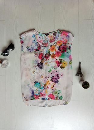 Шифоновая блузка топ topshop