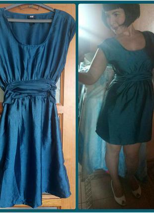 Потрясающее платье h&m, eur38/m