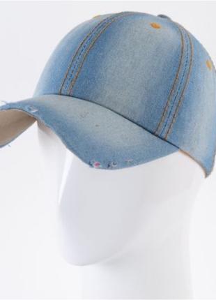 Бейсболка джинсовая, кепка 56-58 разные цвета и модели