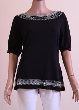 Блуза next размер l черная