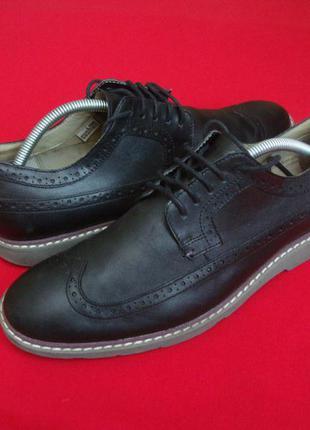 Туфли clarks натур кожа 42- размер