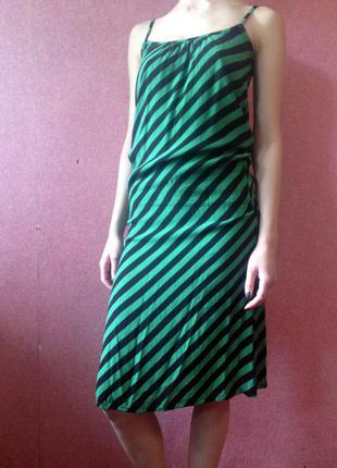 Полосатое платье от h&m