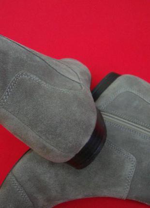 Ботинки clarks натур замша 38 размер