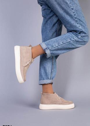 Кеды высокие деми ботинки