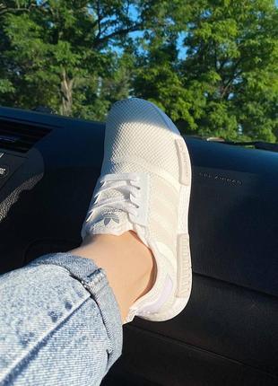 Кросівки  adidas nmd текстиль живі фото