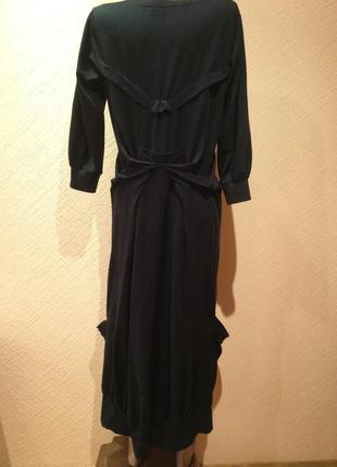 Дизайнерское  трикотажное платье с карманами в духе rundholz  от fifth avenue shoe repair.