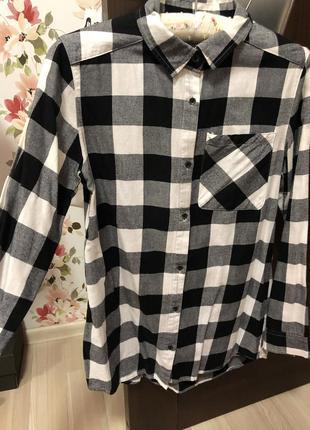 Женская клетчатая рубашка reserved