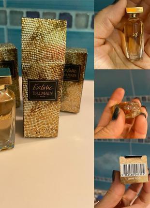 Миниатюра духи, парфюм balmain extatic