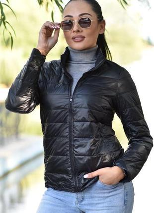 Стильная женская курточка пух.