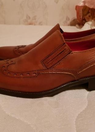 Мужские туфли премиум класса pierre cardin