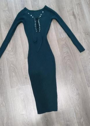 Платье резинка платье чулок трикотаж вязаное тонкое