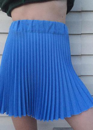 Плесированная юбка