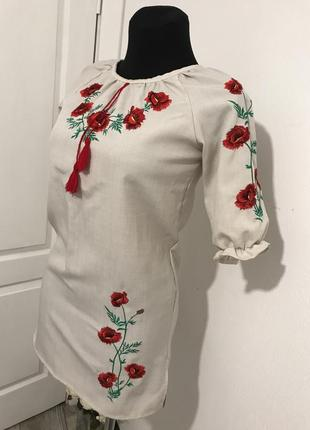 Вишиванка сукня / вишиваное платье / українська вишиванка