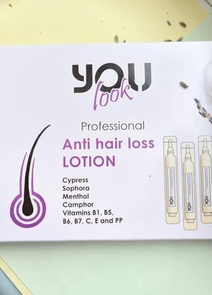 Ампулы против выпадения волос