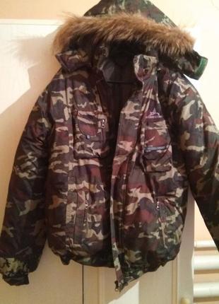 Зимняя куртка 48-50