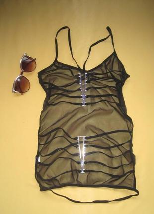 Эротическое   прозрачное белье с металлической фурнитурой