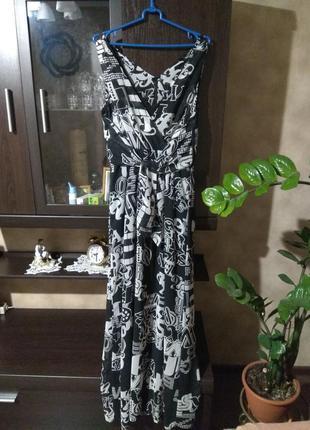 Платье макси h&m