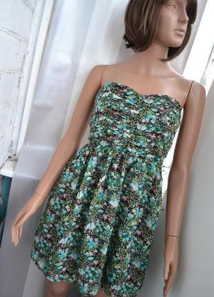 Лёгкое платье в цветы
