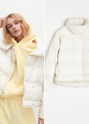 Нова колекція стильна утеплена куртка oversize reserved