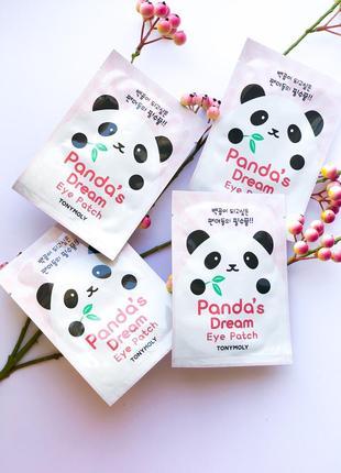 Патчи от темных кругов под глазами tony moly panda's dream eye patch