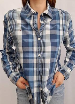 Ктутая рубашка tommy hilfiger