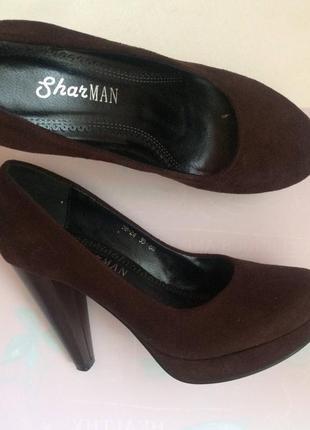 Новые туфли шарман