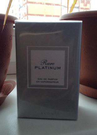 Новый парфюм avon rare platinum, 50 мл.