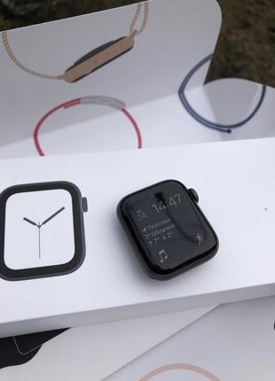 Apple watch 4, 40 mm, aluminum, space gray
