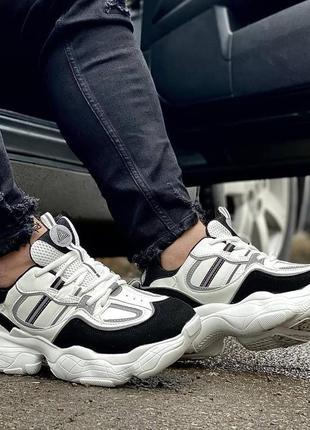 Мужские кроссовки stilli owens white - black