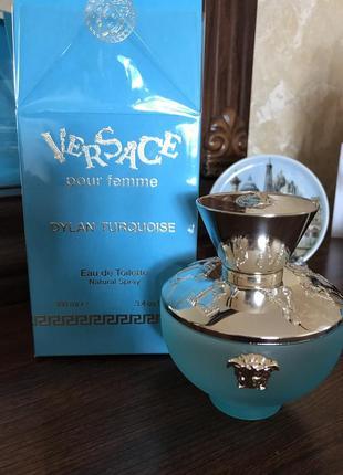 Versace pour femme dylan turquoise,туалетная вода,парфюм,отливант,распив