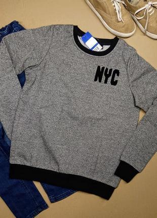 Теплый свитер реглан джемпер свитшот pepperts/ на рост 158-164