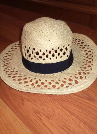 Новая соломенная шляпа h&m размер onesize