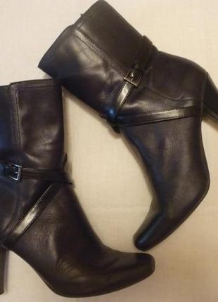 Ботильоны ботинки полусапожки кожаные